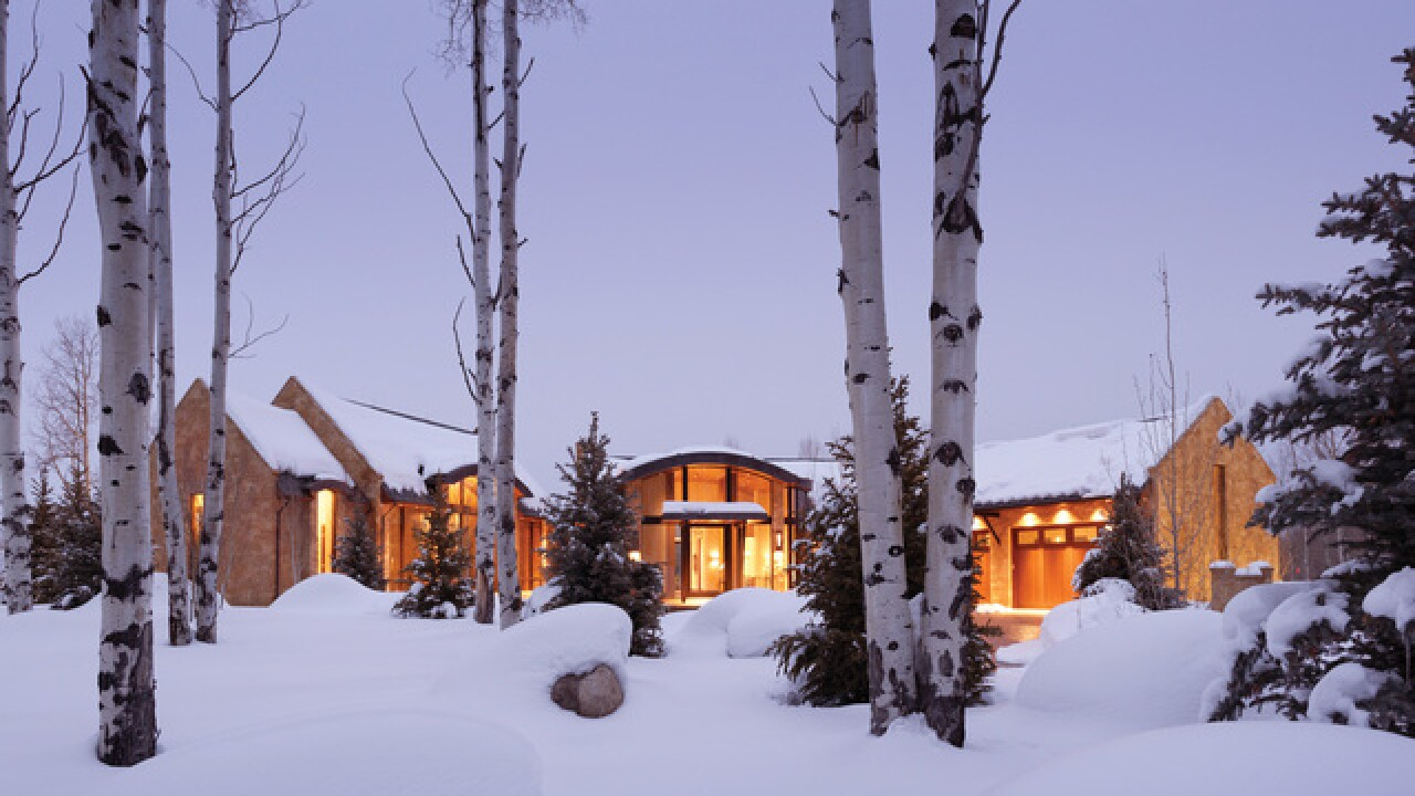 Colorado Dream Homes: $49M Aspen estate includes guest house, stable