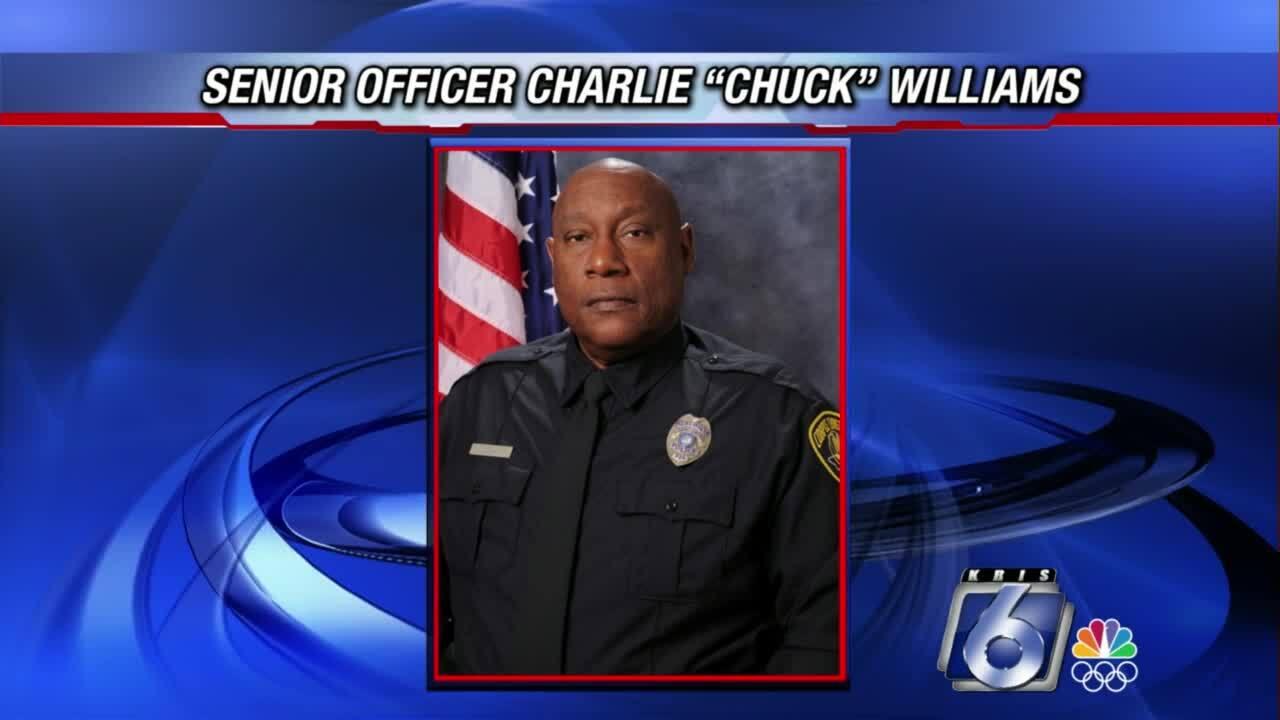 "Sr. Officer Charlie ""Chuck"" Williams"