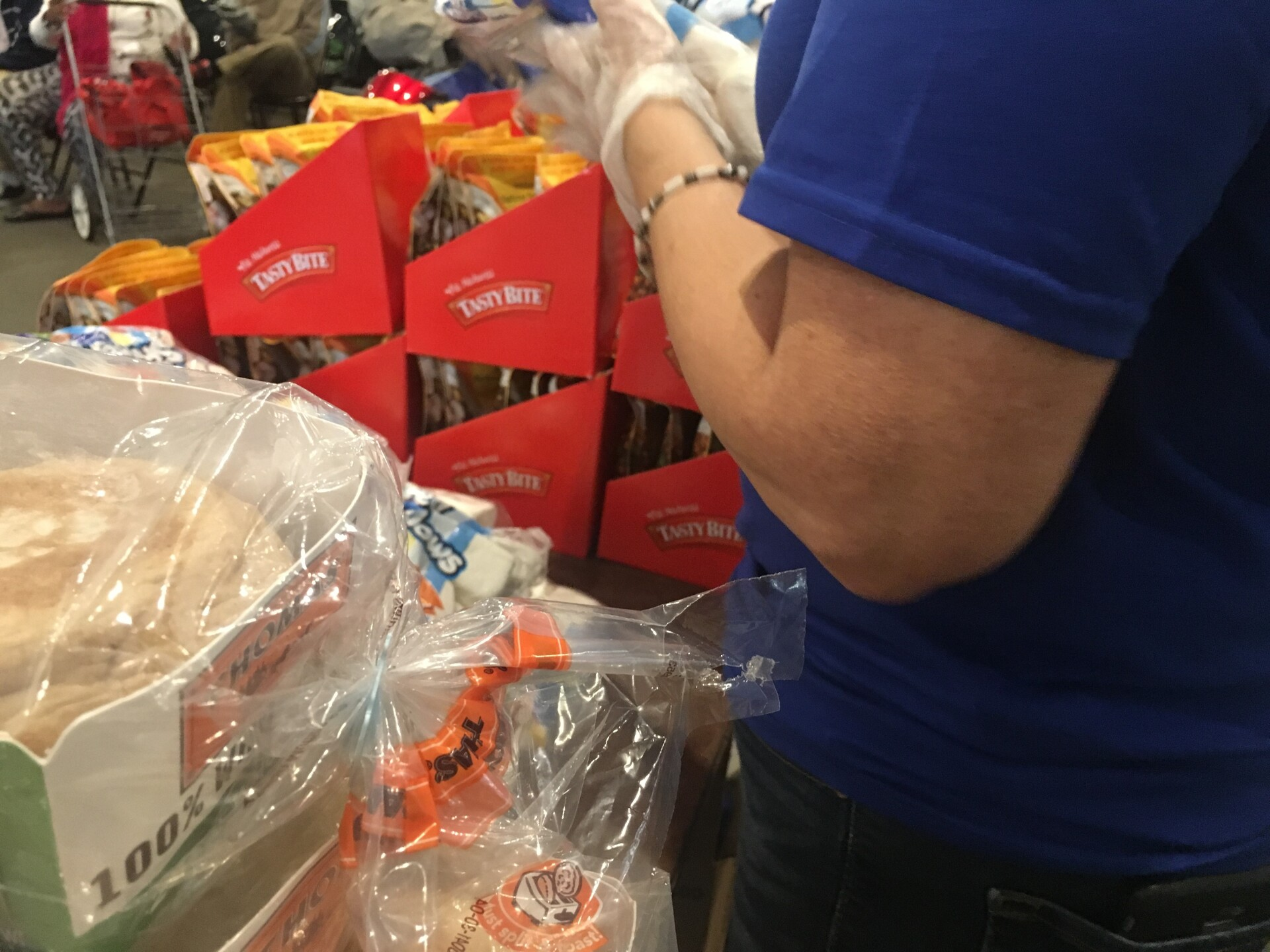 Photos: Dominion Energy gives $100,000 grant to 7 food banks acrossVirginia