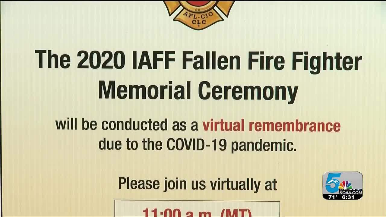 2020 IAFF FALLEN FIRE FIGHTER MEMORIAL CEREMONY