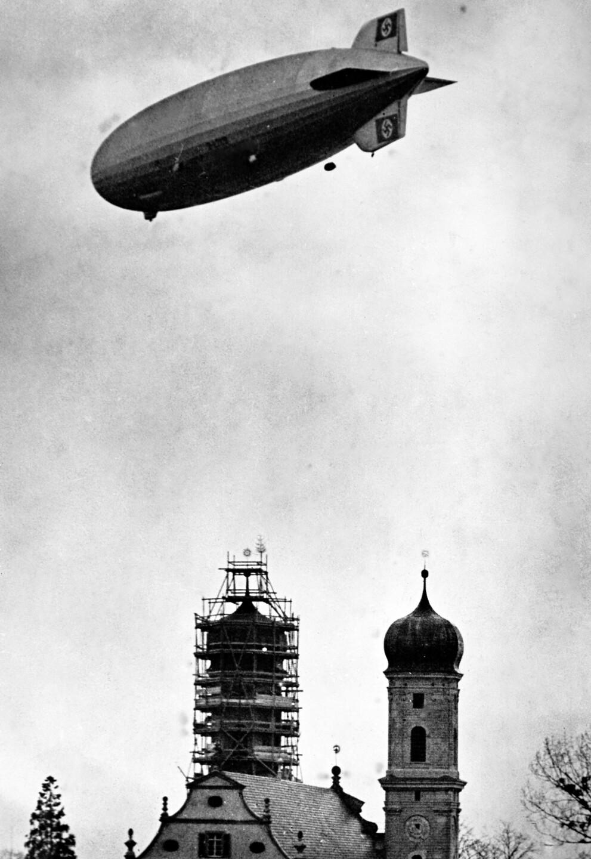 German Zeppelin Successful Trial