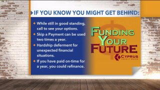 Funding Your Future: What to do if you are falling behind on your debtobligations