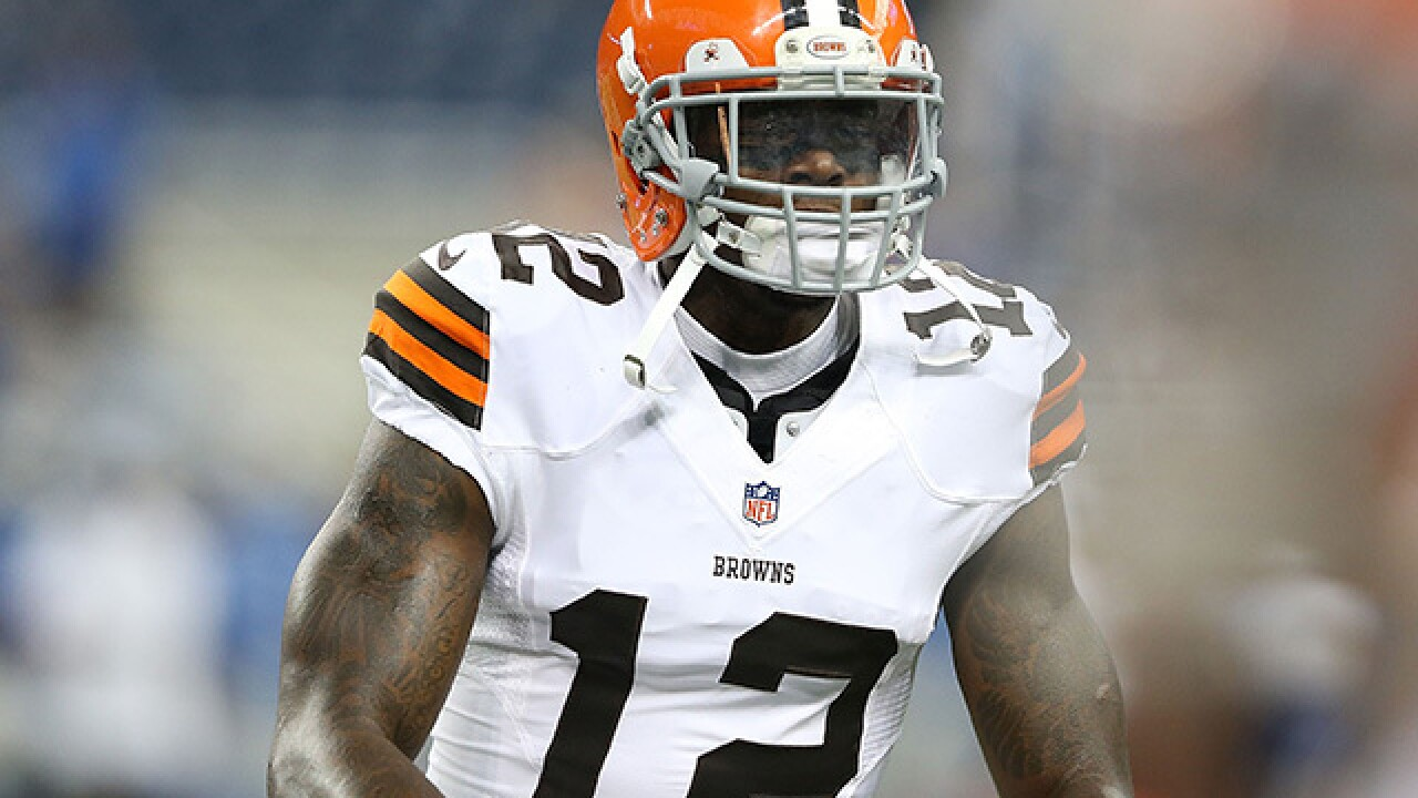 Josh Gordon will miss Sunday's Browns game due to hamstring injury