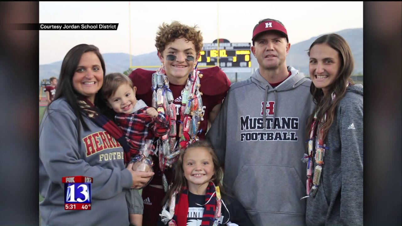 Herriman community mourns teen killed in crash on Bangerter