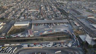 Aerial Views Of U.S. - Mexico Border