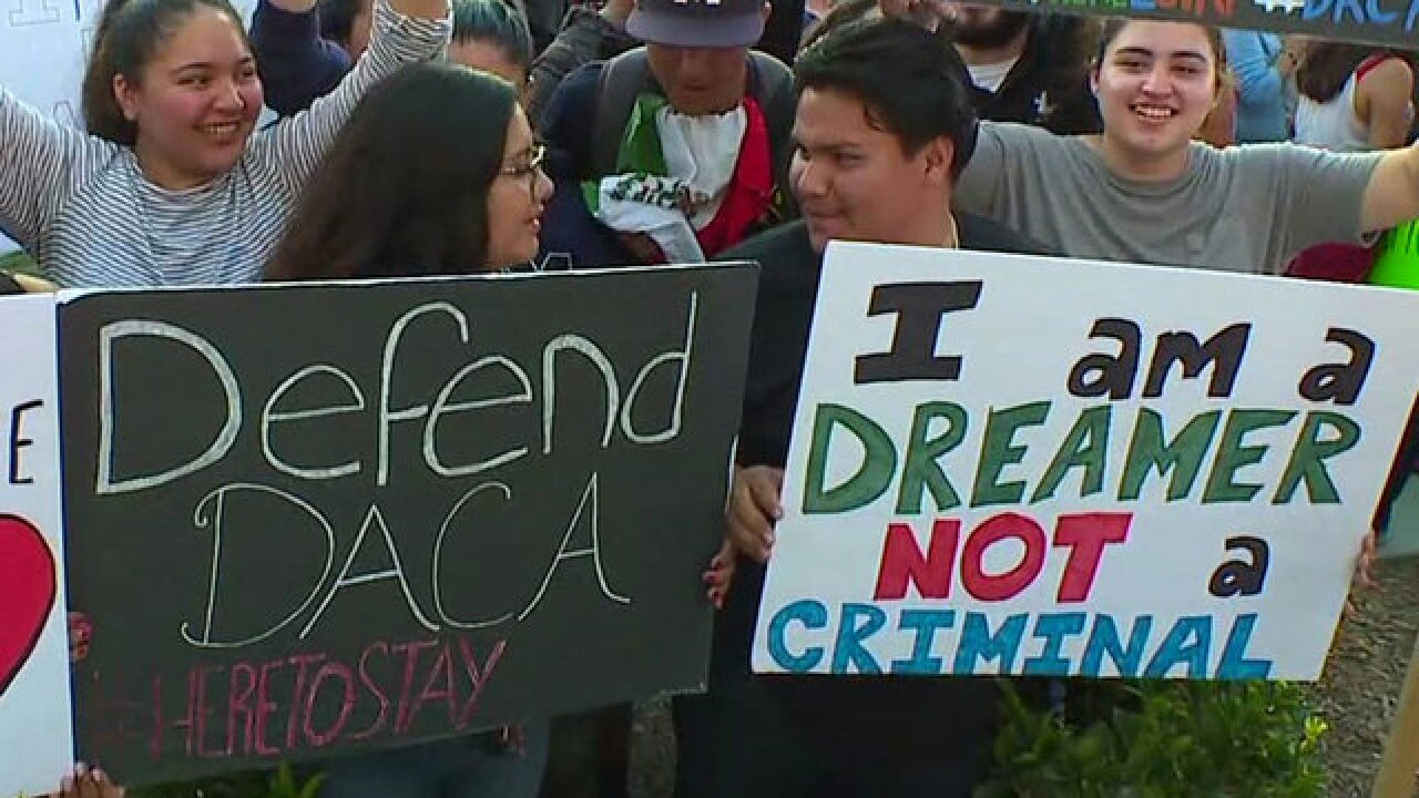 Image result for PHOTOS OF DACA RALLIES