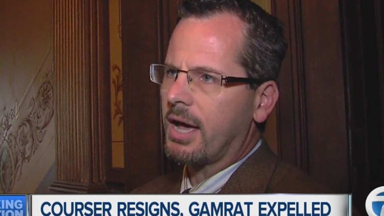 Courser resigns, Gamrat expelled from MI House