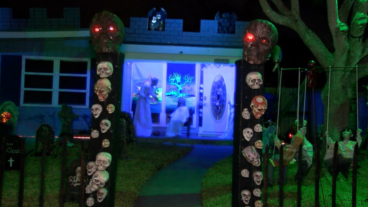 Local family puts Halloween spirit on full display