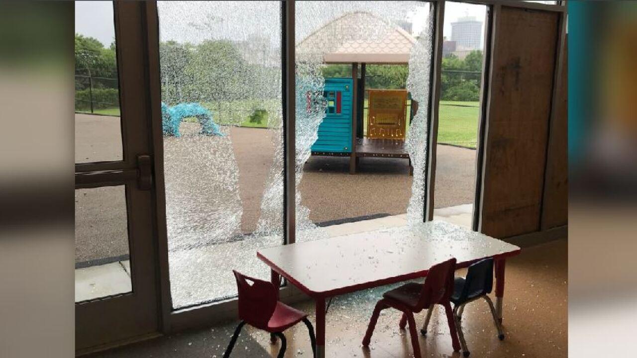 Kids kept safe after someone smashed windows at Richmondpreschool