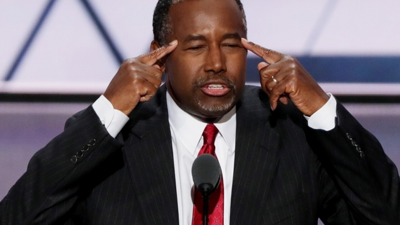 Ben Carson never lived in public housing, despite what some supporters say