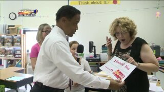 People Taking Action: Surprising a special Chesapeaketeacher