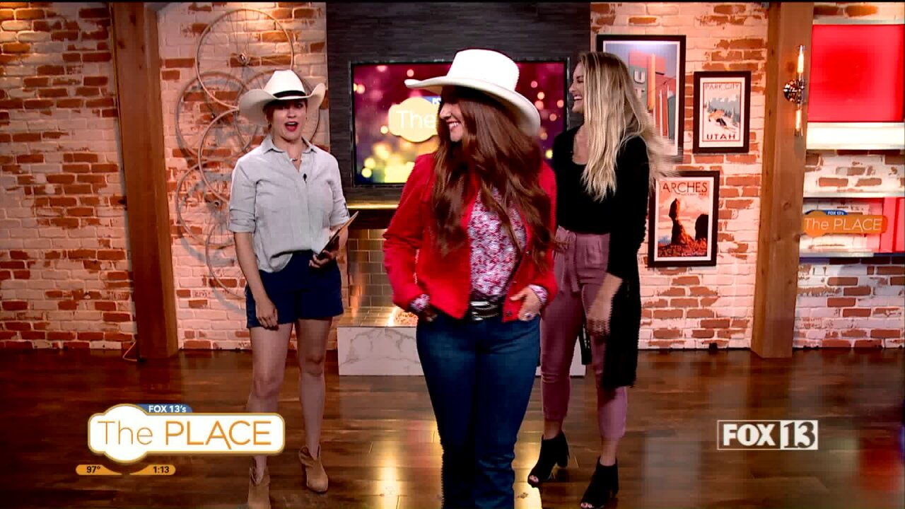 Cowboy and Cowgirl Fashions for PioneerDay
