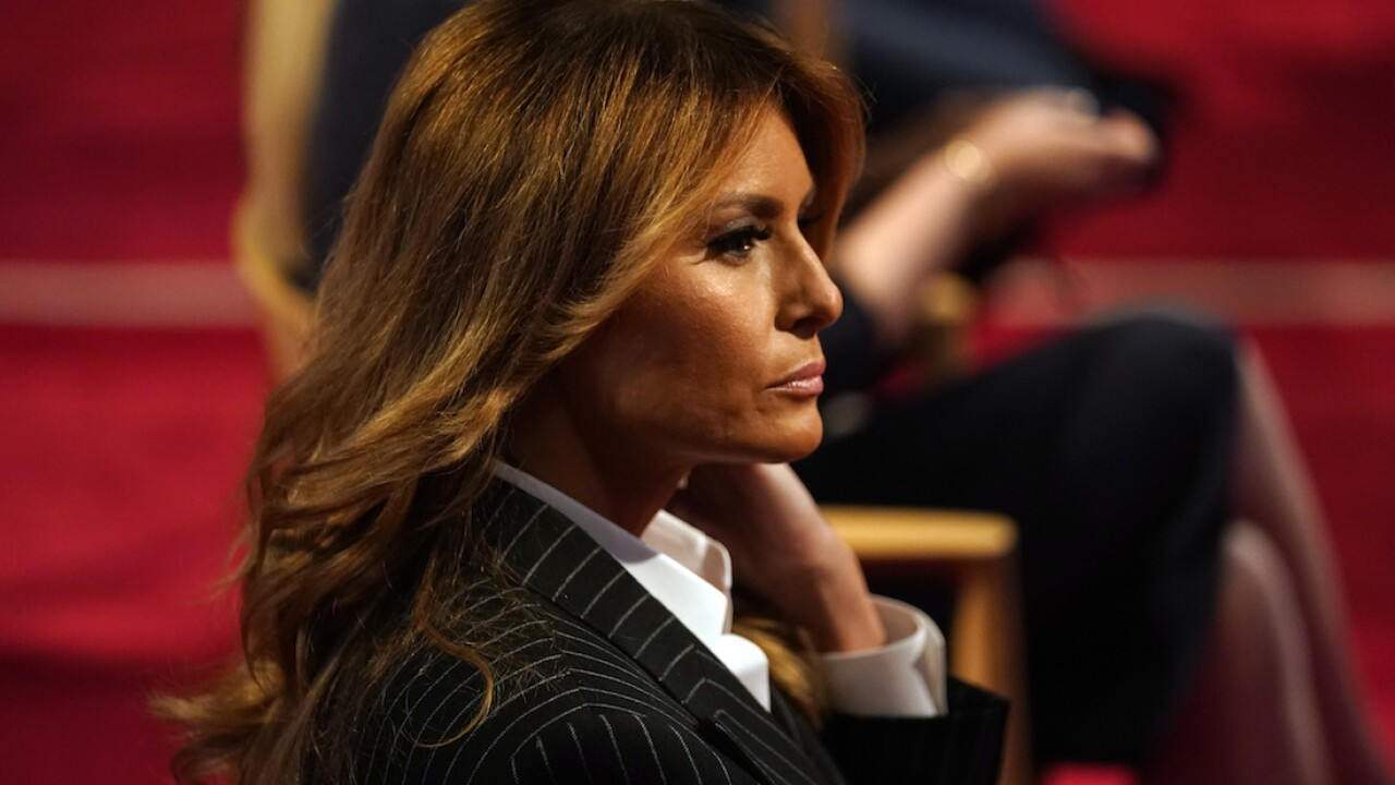 Melania Trump praises care at detention centers in tape