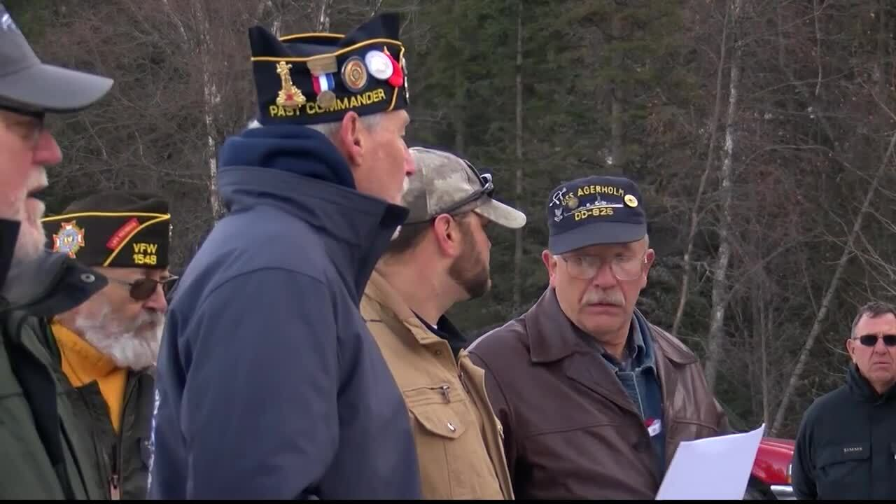 South fork Bridge Veterans Dedication