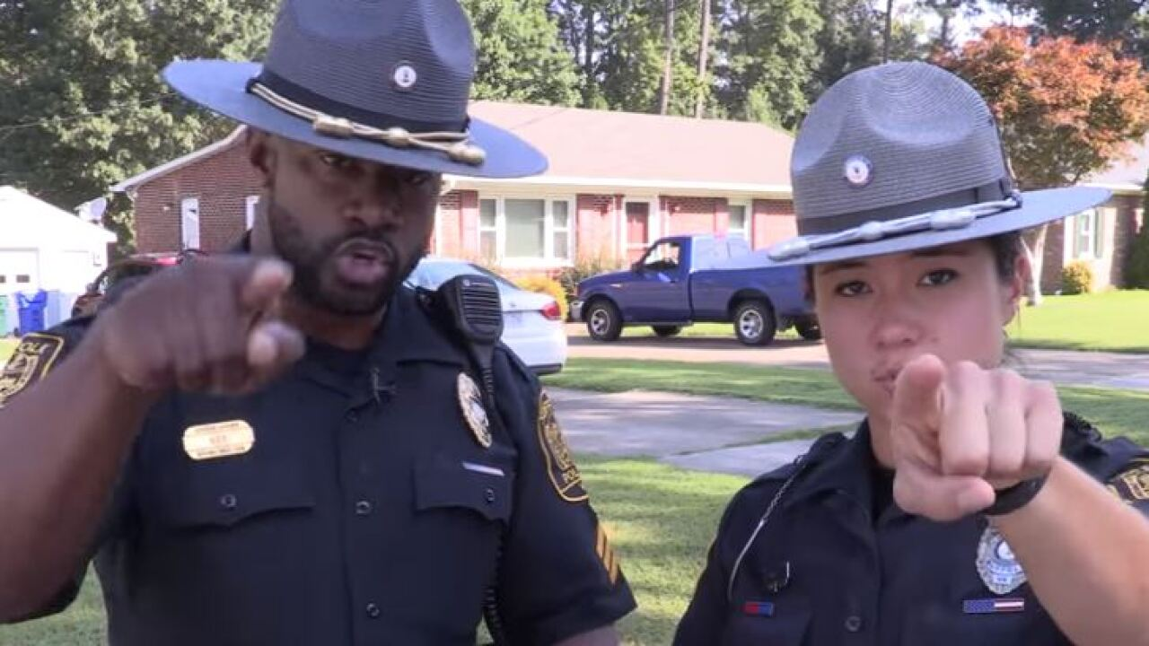 Suffolk Police issue challenge to citizens after viral lip sync video