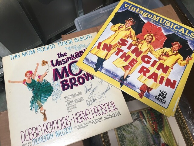PHOTOS: Props owned by Debbie Reynolds, Carrie Fisher to be auctioned in Las Vegas