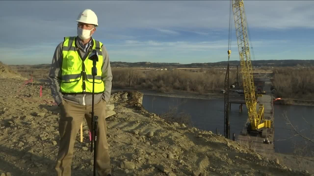 Construction begins on Billings Bypass bridge over Yellowstone River