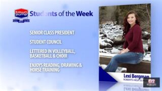 Students of the Week: Lexi Bergman and Maddisyn Allen of Roberts High School