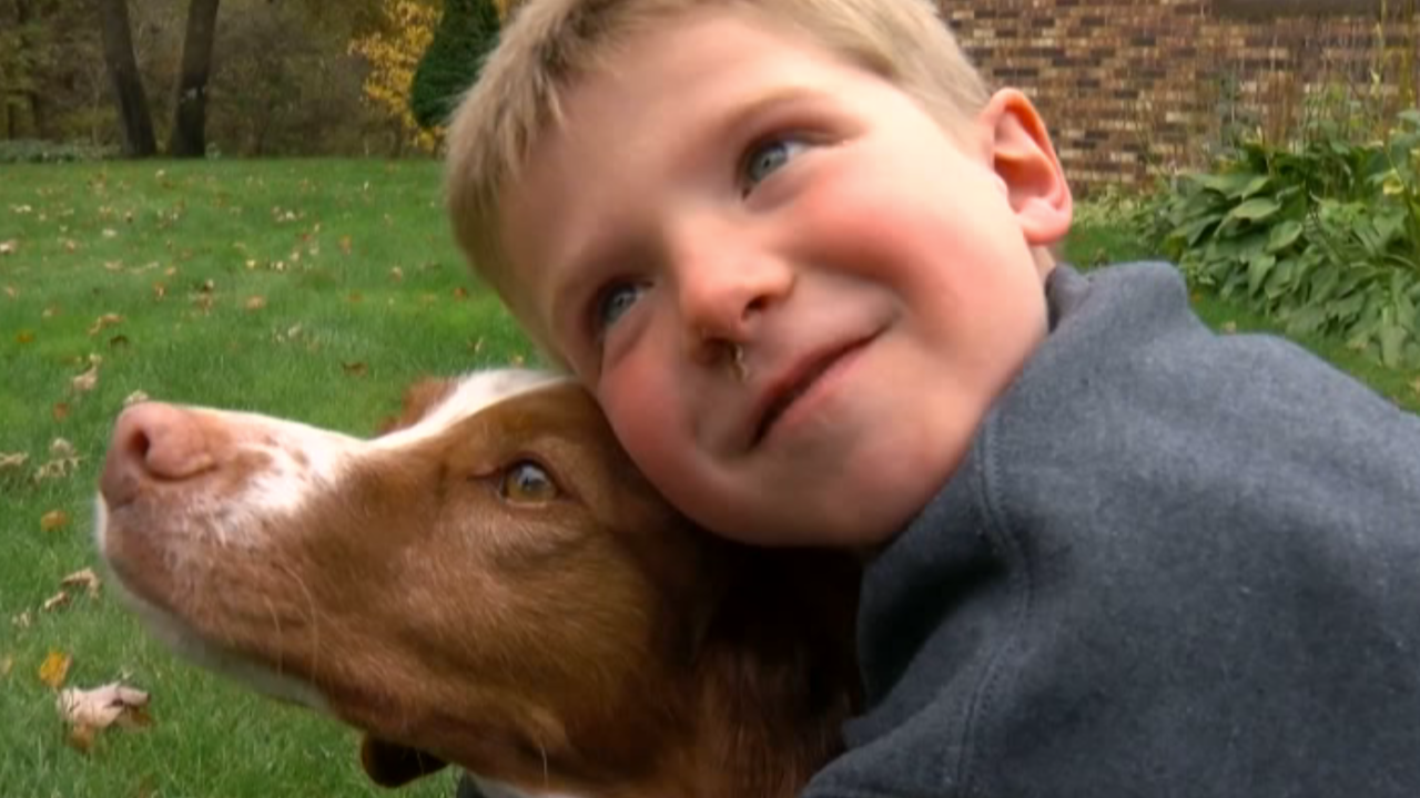 A missing 6-year-old boy and his dog were found using a drone with a thermal camera