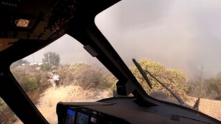 Helicopter crew saves people, pets on peak during Woolsey Fire