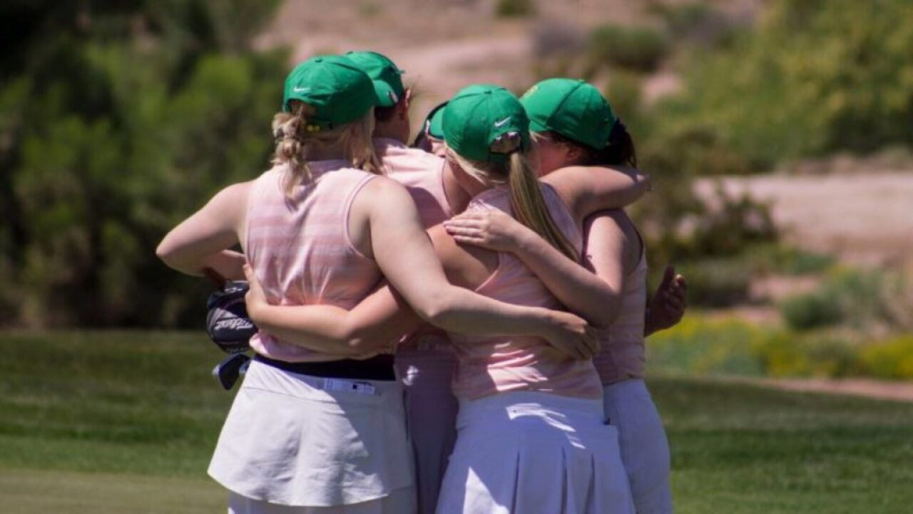 Rocky Mountain College golf women under way at National Championship