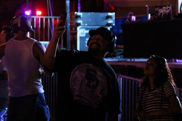 PHOTOS: Silent disco turns up at KAABOO Del Mar