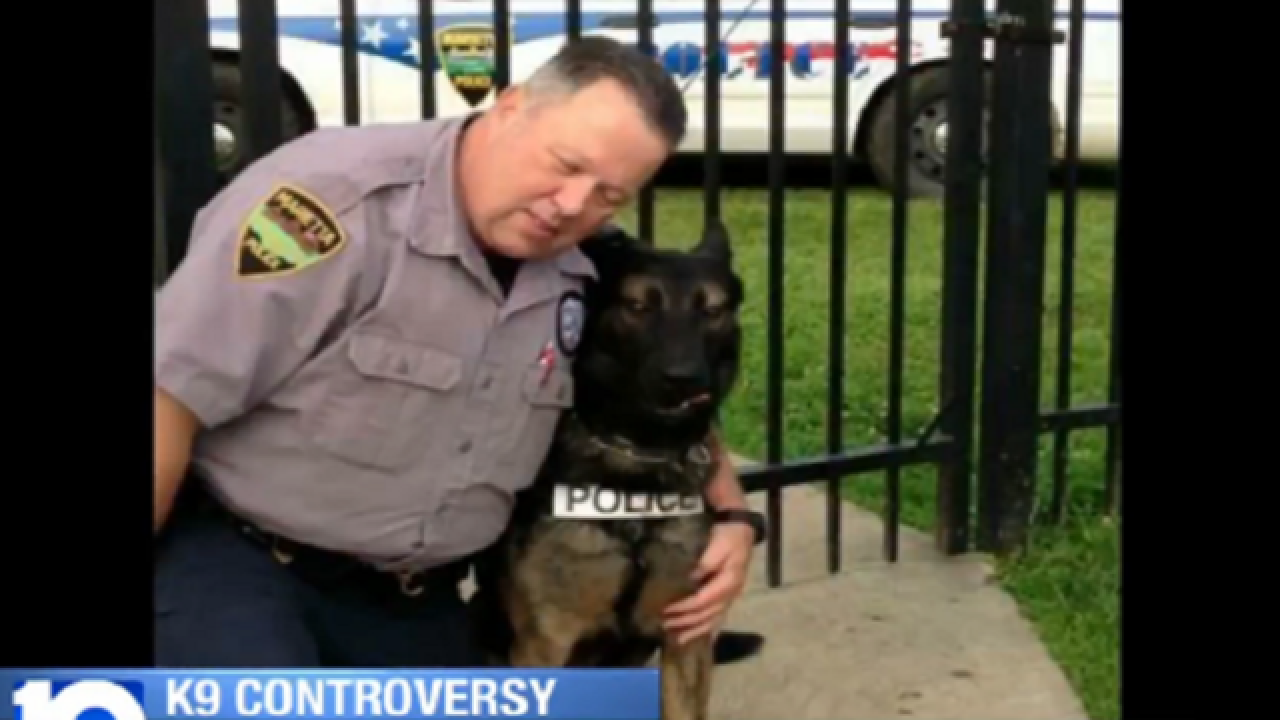 Retired officer to fight for K9 in auction