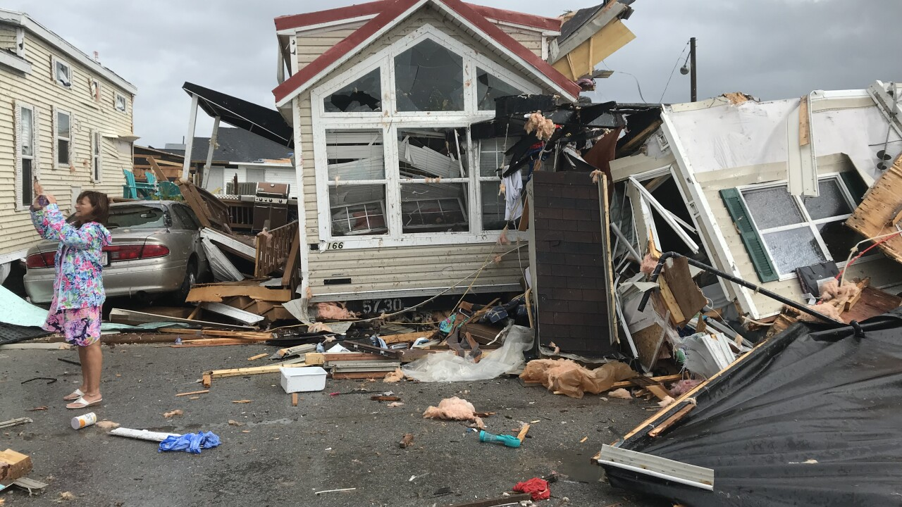 Hurricane Dorian-spawned tornado damages Emerald Isle, town officials say