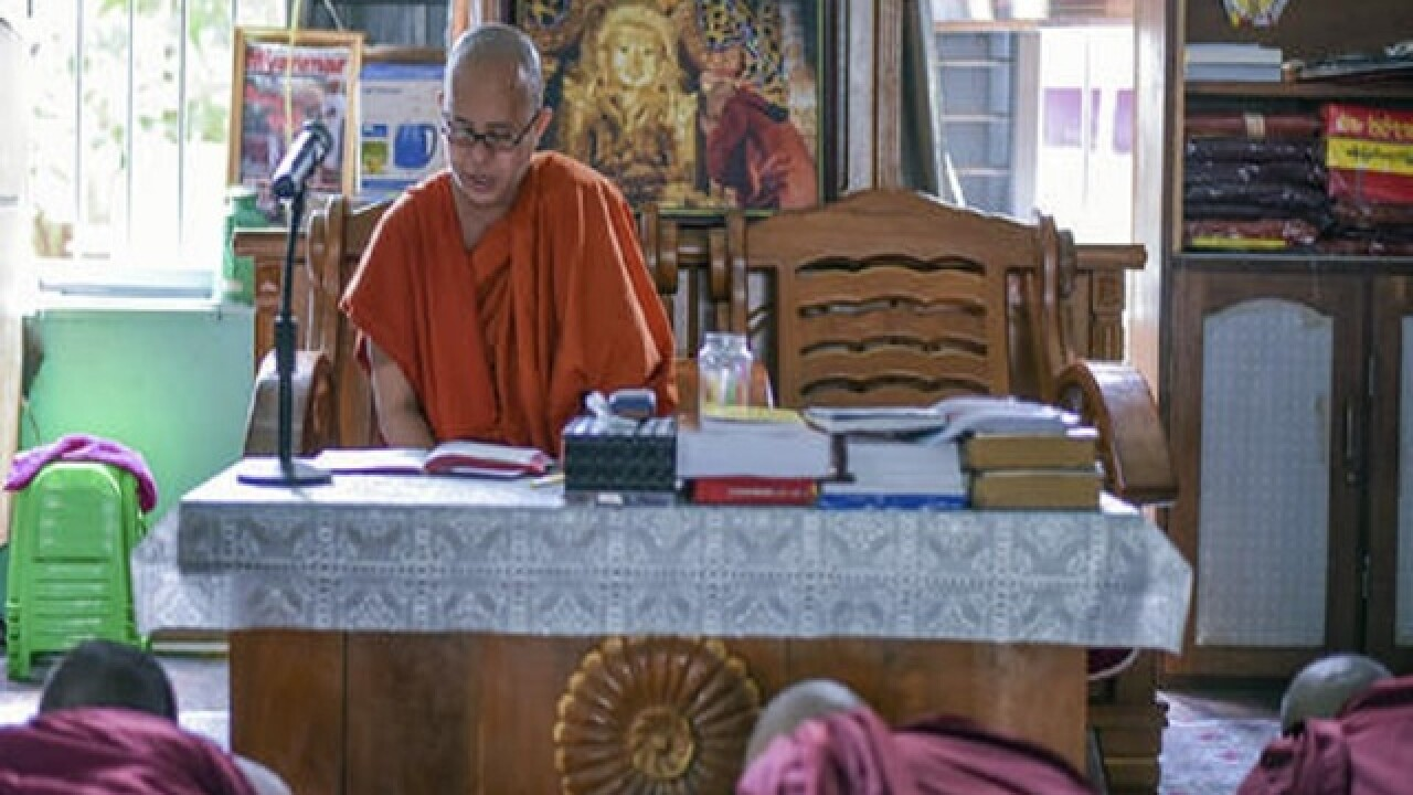 Anti-Muslim Buddhist monk in Myanmar: Trump 'similar to me'