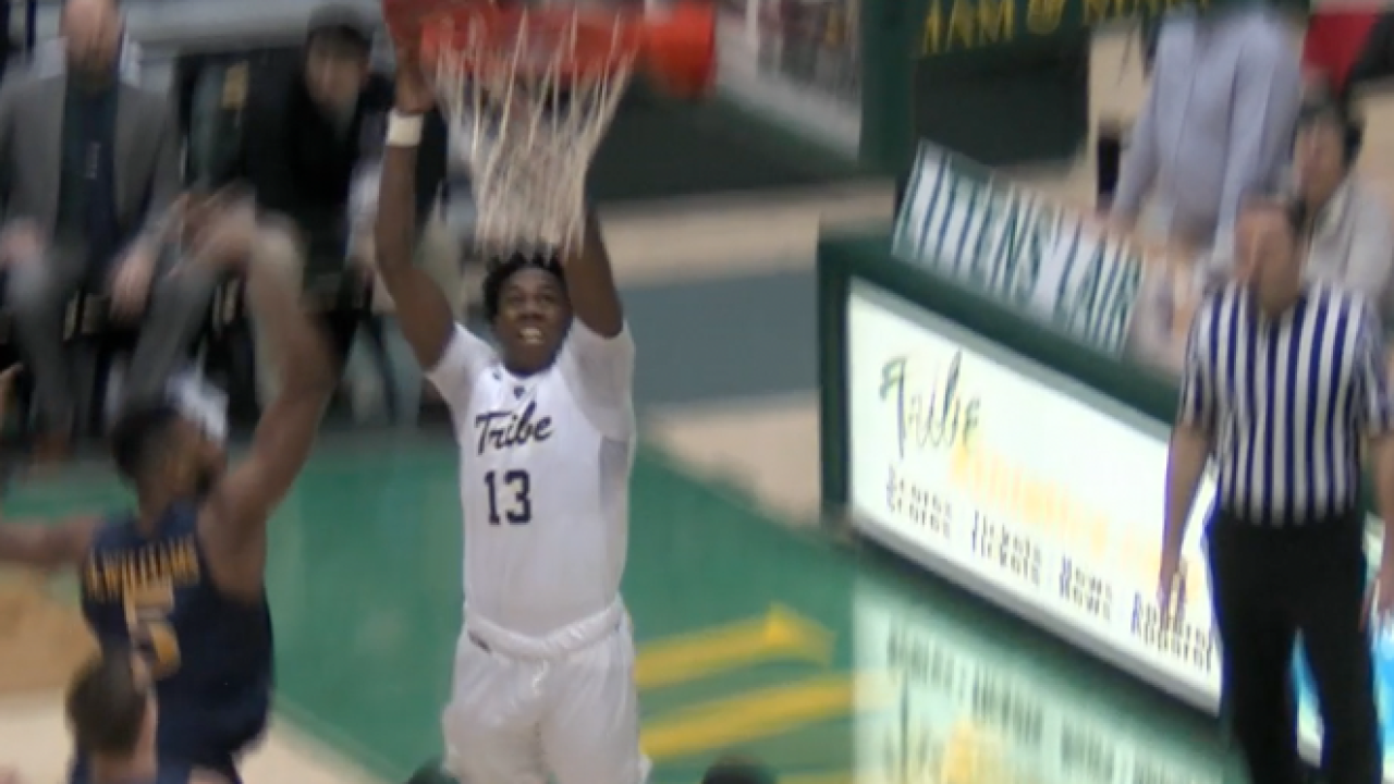 William & Mary shoots lights out in a 108-85 win overDrexel