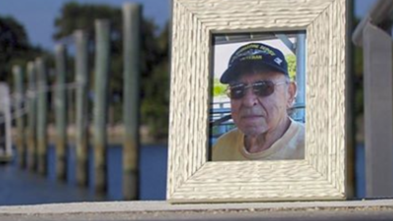 WWII veteran's ashes go missing for three years