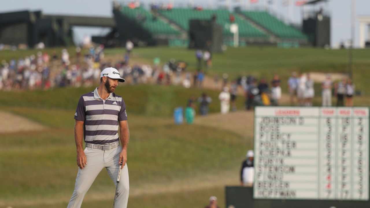 Dustin Johnson in 4-way tie after day of survival at US Open