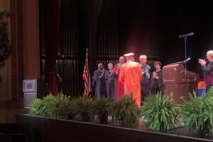 Ed Hoskins graduation
