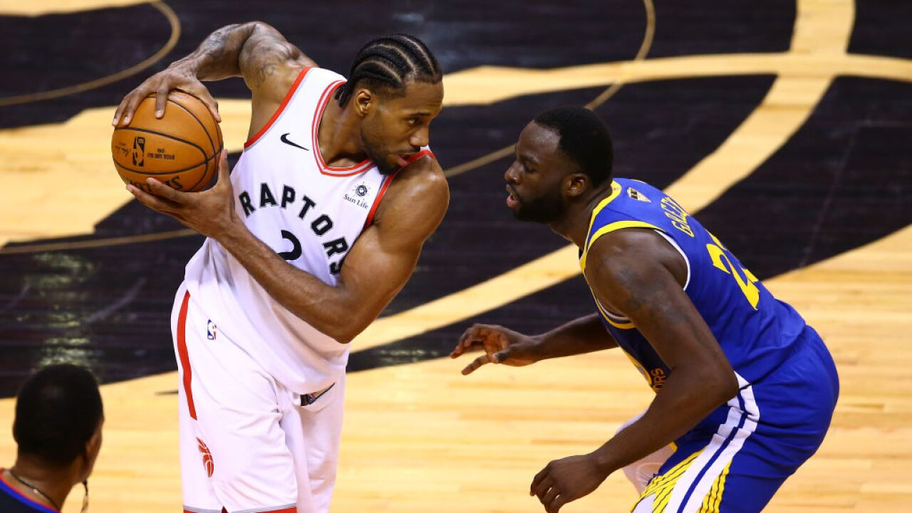Warriors rally without Durant to force Game 6 against the Raptors