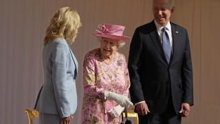 Britain Biden Queen