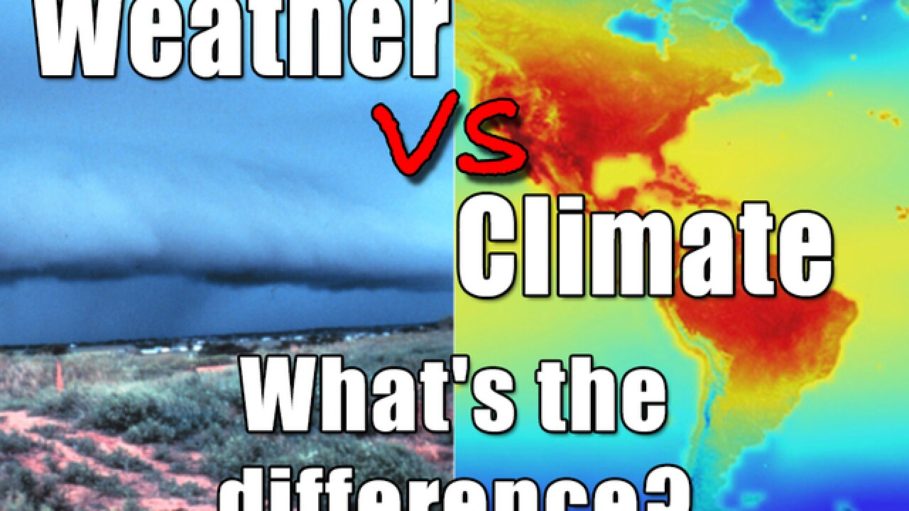 Climate vs weather: What's the difference?