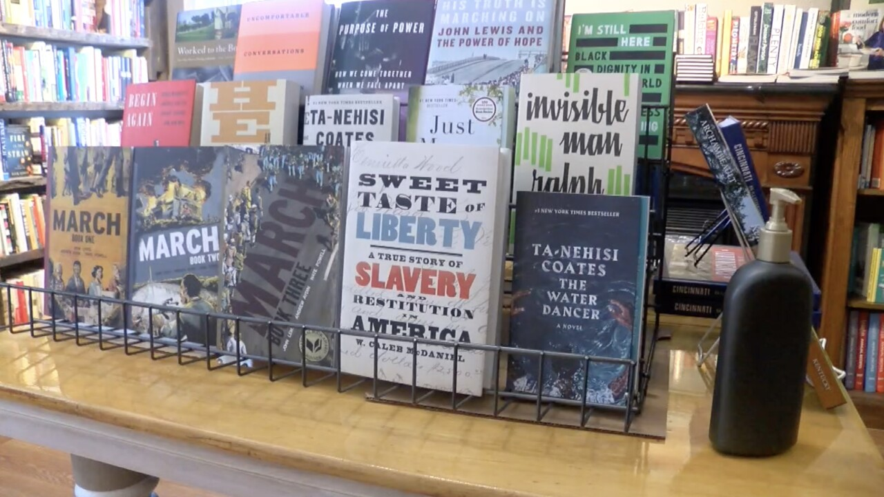 Black authors on display at Covington book store