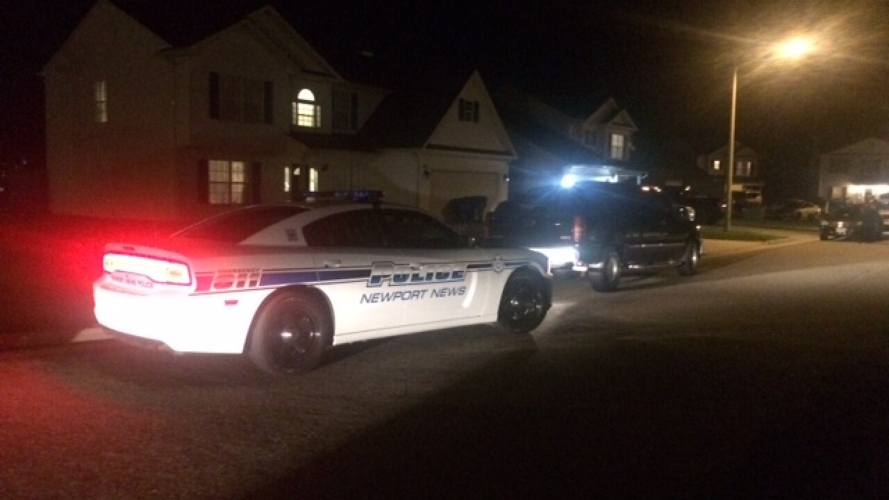 Newport News toddler hospitalized after accidentally shooting himself