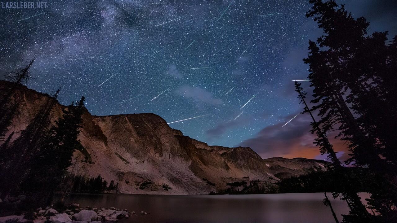 Perseid Meteor Shower at Lake Marie Wyoming Lars Leber Photography.jpg