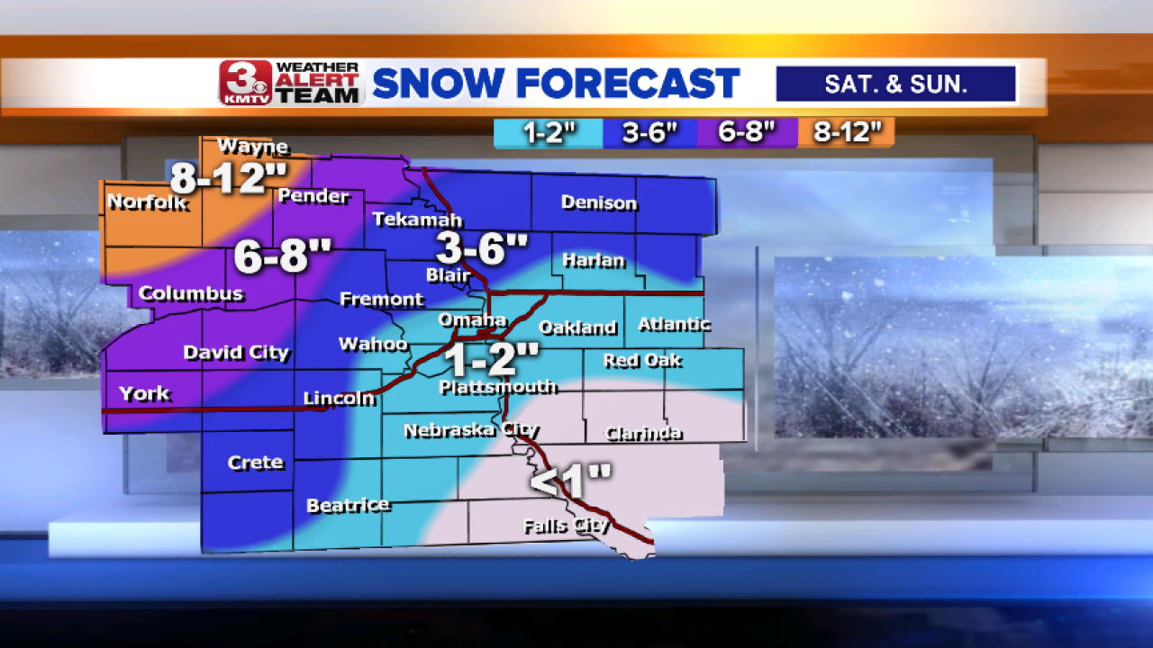 Snow Totals through December 2