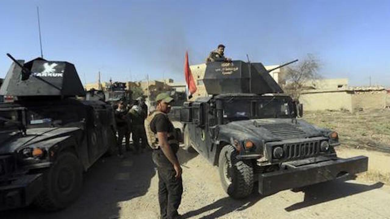 Iraqi forces launch new advance northeast of Mosul
