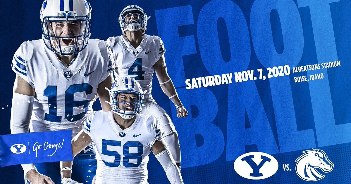 Albertsons Tooele Halloween 2020 BYU and Boise State announce Nov. 7 game