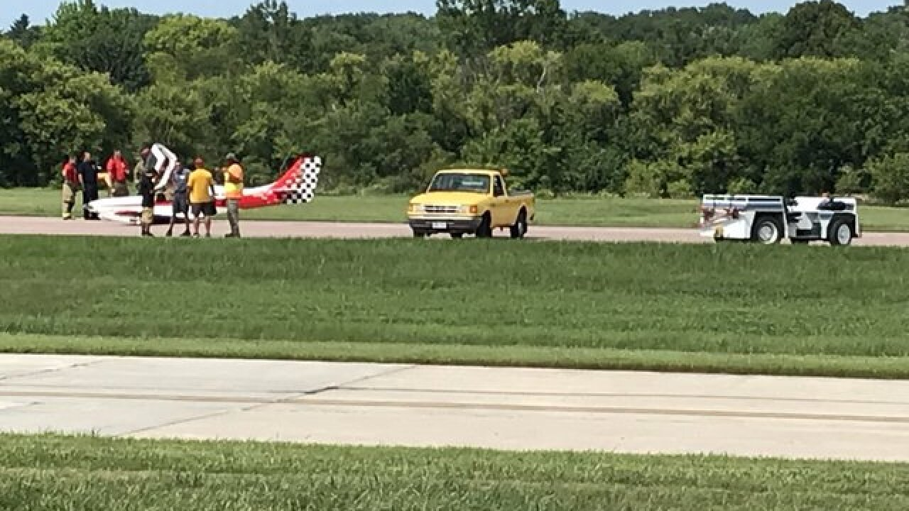 Small plane makes emergency landing at Millard Airport; no injuries reported