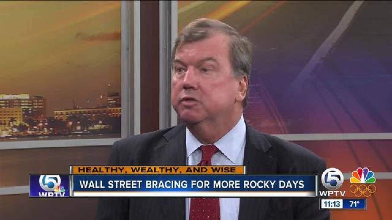 Are rocky days ahead for the stock market?