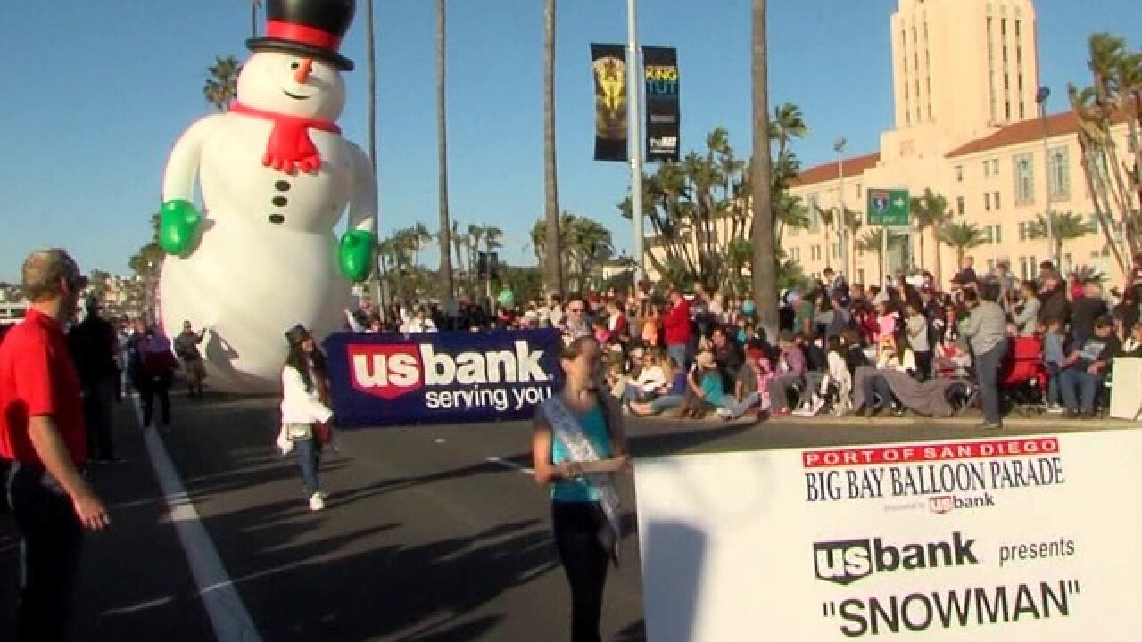 Holiday Bowl Parade kicks off NYE festivities in San Diego