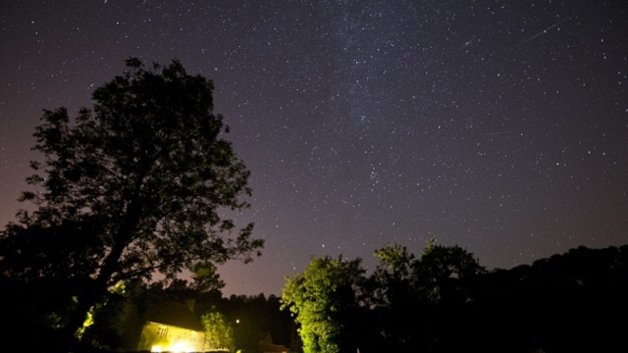 Perseids meteor shower the light up SD's skies