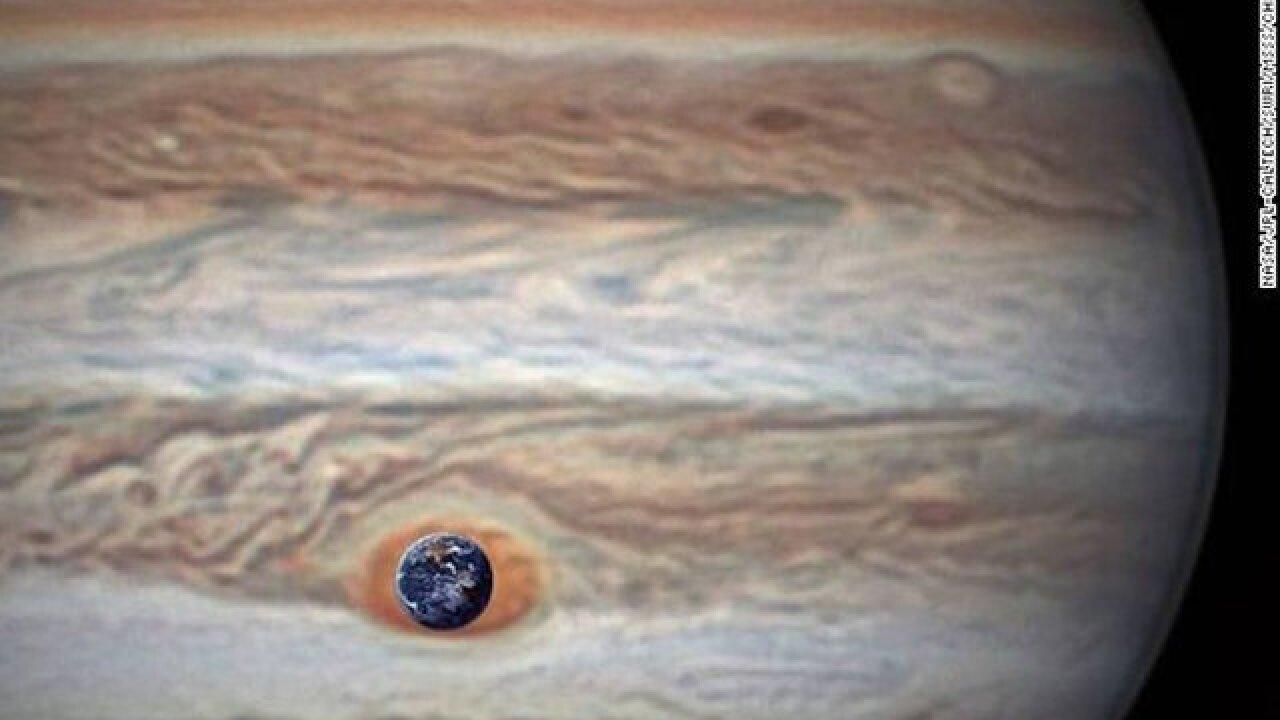 NASA releases new photos of Jupiter