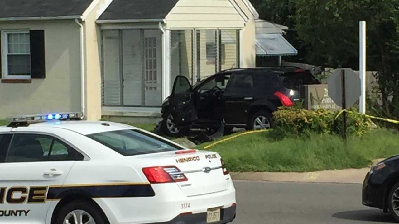 Pedestrian hit by car in Henrico's West End; officer's car hit in separate crash