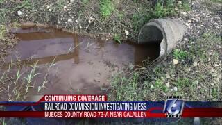 Texas Railroad Commission investigating Calallen-area spill