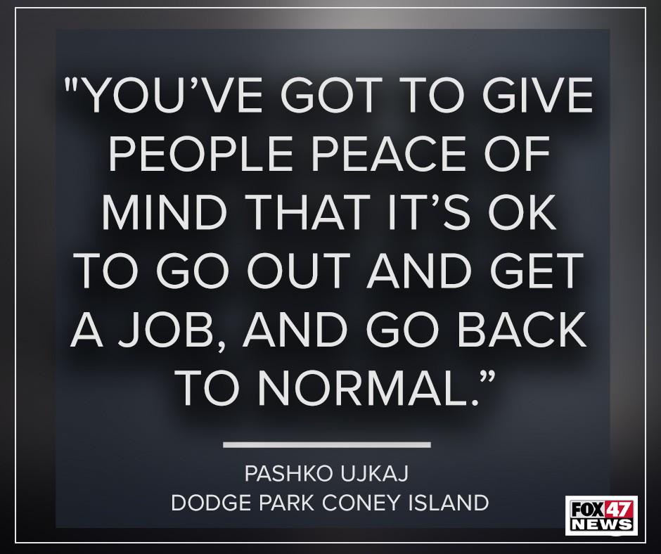 Pashko Ujkaj, Dodge Park Coney
